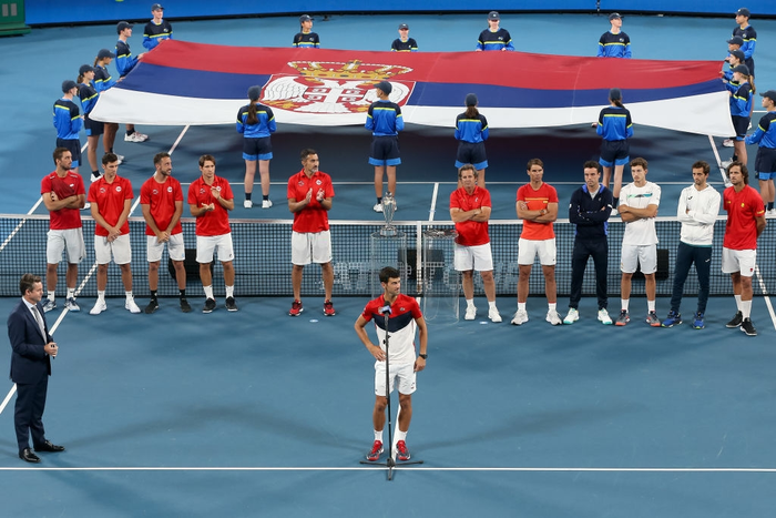 """Hạ đẹp Nadal, Djokovic giúp tuyển Serbia vô địch """"World Cup quần vợt"""" - Ảnh 10."""