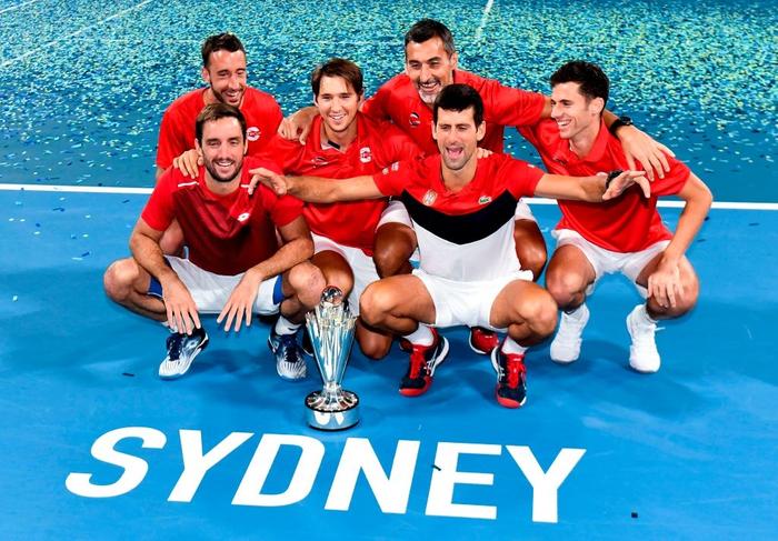 """Hạ đẹp Nadal, Djokovic giúp tuyển Serbia vô địch """"World Cup quần vợt"""" - Ảnh 9."""