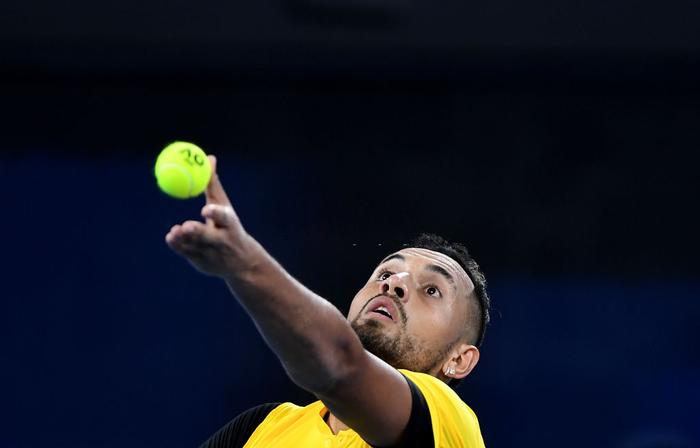 """ATP Cup 2020: """"Trai hư"""" Kyrgios hóa ngoan với hành động ai cũng trầm trồ, màn phát quốc ca lỗi khiến cả team nhăn mặt khó chịu - Ảnh 2."""