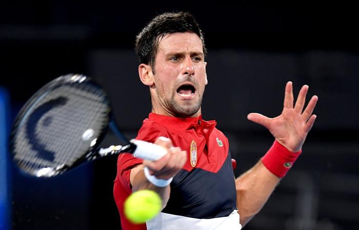 Djokovic bất ngờ bị tước điểm ở pha bóng dễ như ăn kẹo, để rồi bùng nổ phấn khích sau chiến thắng kịch tính - Ảnh 8.