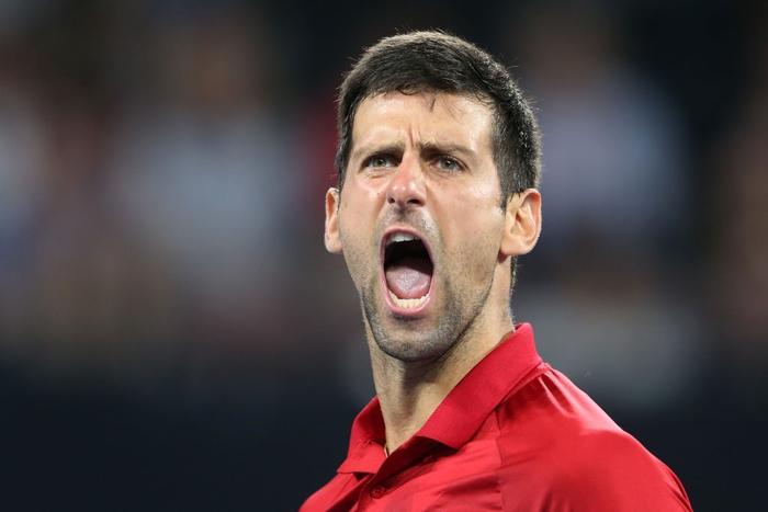 Djokovic bất ngờ bị tước điểm ở pha bóng dễ như ăn kẹo, để rồi bùng nổ phấn khích sau chiến thắng kịch tính - Ảnh 6.