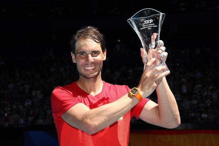 Chẳng tay vợt nào hạnh phúc hơn Nadal hôm nay: Vừa tỏa sáng giúp Tây Ban Nha vào tứ kết ATP Cup, lại ẵm thêm chiếc cúp danh giá - Ảnh 7.