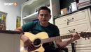 Tân HLV HAGL- Kiatisuk và những bài hát tiếng việt làm đốn tim các fan bóng đá Việt Nam