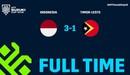 Indonesia 3-1 Timor Lester | Highlights bảng B AFF Cup 2018