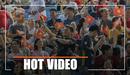 SVĐ Olympic mở nhạc Việt, cổ động viên U22 Việt Nam quẩy tưng bừng trên khán đài