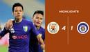 Highlights Shandong Luneng 4-1 CLB Hà Nội   Nhà vô địch V.League xuống chơi AFC Cup