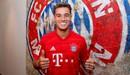 Coutinho chính thức gia nhập Bayern theo dạng cho mượn từ Barcelona