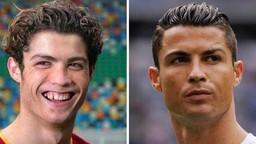 """Cười sái hàm với bức ảnh thời """"trẻ trâu"""" của Ronaldo: Hóa ra, idol của chúng ta đã có bước dậy thì cực kỳ thành công"""