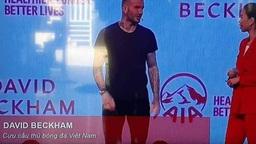 """Những nhầm lẫn tên cầu thủ """"dở khóc dở cười"""" ngay trên sóng truyền hình: Từ bao giờ Beckham trở thành cựu cầu thủ Việt Nam?"""