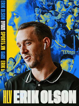 HLV Erik Olson: Người thầy, người anh, người bạn của các cầu thủ Hochiminh City Wings