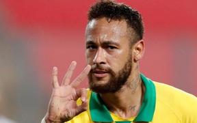 Bây giờ Neymar mới thực sự là Chúa của Selecao