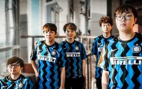 CLB Inter Milan chúc mừng SofM và Suning sau chiến thắng 3-1 trước TOP Esports