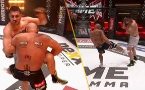 Võ sĩ kỳ cựu bị xử thua vì liên tục sử dụng đòn của MMA khi thi đấu boxing