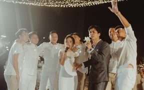 Viên Minh tiết lộ bài hát song ca cùng Công Phượng trong lễ cưới ở Phú Quốc