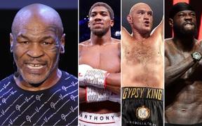 """Sau trận đại chiến với Roy Jones, """"Tay đấm thép"""" Mike Tyson tình chạm trán cùng Anthony Joshua, Tyson Fury và Deontay Wilder"""