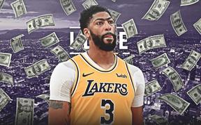 """Chốt hợp đồng """"khủng"""" với Los Angeles Lakers, Anthony Davis cam kết tương lai lâu dài với kinh đô Hollywood"""