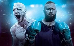 """""""Người khỏe nhất hành tinh"""" Thor Bjornsson chạm trán đối thủ có trọng lượng nhẹ bằng một nửa trong ngày ra mắt làng boxing"""