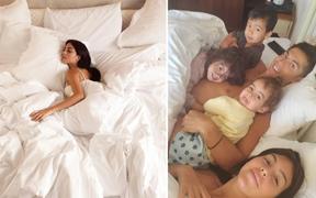 """Bạn gái Ronaldo khoe trải nghiệm nằm trên chiếc giường """"trẻ mãi không già"""" trị giá tiền tỷ: Cảm giác lâng lâng cứ như trên mây"""