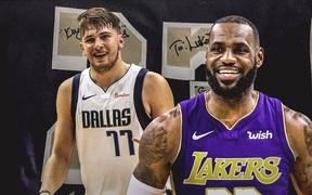 """LeBron James từng có ý định """"mời gọi"""" Luka Doncic về chung đội"""