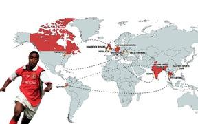 Câu chuyện nghiệp quật về một cầu thủ trộm cắp, cuối cùng phải lang thang chơi bóng ở 23 CLB và 16 quốc gia