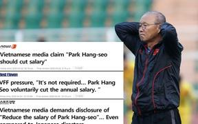 """Báo Hàn: """"Không công bằng khi HLV Park Hang-seo đã quyên góp nhưng vẫn bị nhắc giảm lương"""""""