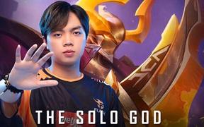 """Suýt chút nữa, Lai Bâng đã hạ gục ADC để trở thành """"The Solo God"""" nhưng sự thiếu kinh nghiệm khiến thần đồng phải trả giá"""