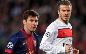 Messi là nguyên nhân chính khiến David Beckham quyết định giải nghệ ở tuổi 38