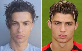 """Ronaldo gây sốt MXH bằng kiểu đầu """"mì tôm"""" mười năm mới có một lần, fan đồng loạt xuýt xoa khen ngợi: Trông anh như đang hồi xuân"""