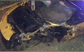 Anh chàng cầu thủ thoát chết thần kỳ sau tai nạn vỡ nát siêu xe Lamborghini đi thuê