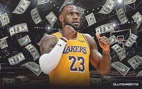 LeBron James cùng dàn sao NBA tiếp tục thể hiện sự bá đạo trong top 100 VĐV kiếm tiền giỏi nhất 2020