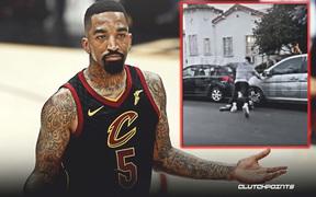 JR Smith trần tình lý do vì sao anh đánh đập một thanh niên da trắng khi tham gia biểu tình tại Los Angeles
