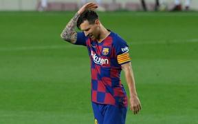 Messi nổi giận sau khi Barcelona mất chức vô địch vào tay kình địch Real Madrid