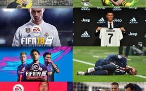 Ảnh bìa FIFA trở thành điềm báo đen đủi với các siêu sao bóng đá