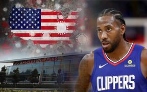 NBA phát hiện thêm 9 ca nhiễm Covid-19, Los Angeles Clippers bất ngờ đóng cửa phòng tập luyện