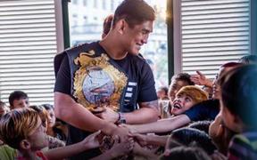 Bi Nguyễn cùng dàn võ sĩ nổi tiếng của ONE Championship chung tay cùng Liên Hợp Quốc thực hiện chiến dịch ý nghĩa UN75