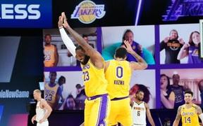 Lakers chấm dứt chuỗi trận bết bát nhờ sự xuất sắc của LeBron James và Kyle Kuzma