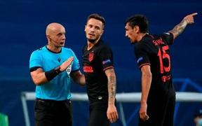 Nghi vấn Atletico bị trọng tài tước trắng một quả phạt đền trong trận thua RB Leipzig