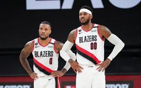 """Portland Trail Blazers giành chiến thắng kịch tính, """"gạt giò"""" Suns khỏi loạt đấu Play-in"""