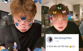 """FL.ADC bắt trend thả thính hot rần rần trên MXH, bạn gái Kim Chung dằn mặt ngay lập tức: """"Liệu cái hồn"""""""
