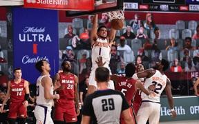 Thắng thuyết phục Miami Heat, Phoenix Suns làm được điều chưa từng có sau hơn nửa thập kỷ