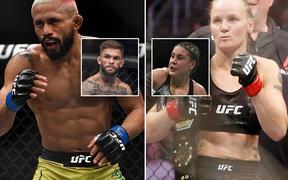 Hai trận tranh đai hấp dẫn được thêm vào sự kiện UFC 255