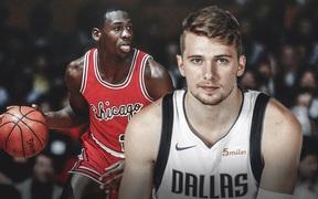 Luka Doncic chính thức đi vào lịch sử NBA khi xô đổ kỷ lục của huyền thoại Michael Jordan