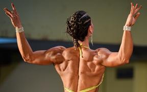 Nội dung nữ body fitness Quốc gia năm 2020: Những cô gái cơ bắp cuồn cuộn khiến đàn ông cũng phải nể phục