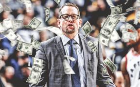 Ký hợp đồng mới với Toronto Raptors, HLV Nick Nurse lọt top những HLV hưởng lương cao nhất NBA