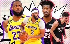 Los Angeles Lakers đối đầu Miami Heat: Trận chung kết NBA giữa hai nàng Lọ Lem