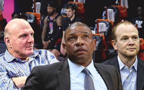 HLV Doc Rivers chính thức rời khỏi chiếc ghế nóng ở Los Angeles Clippers sau thất bại ở NBA Playoffs 2020