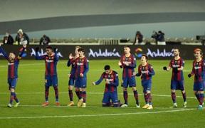 Barca vào chung kết Siêu cúp Tây Ban Nha sau loạt luân lưu 11 m cân não