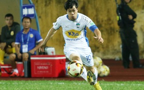 Trực tiếp Sài Gòn 0-0 HAGL: Công Phượng bị cản phá bàn thắng ngay trên vạch vôi