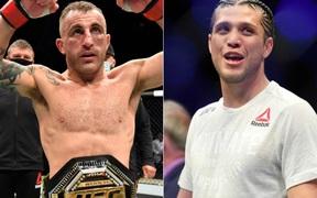 Brian Ortega tranh đai cùng nhà vô địch Alexander Volkankovski tại UFC 260