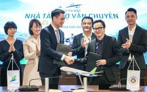 Hà Nội FC tiếp tục là CLB Việt Nam hiếm hoi có nhà tài trợ vận chuyển